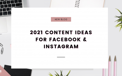 Your 2021 Content Plan