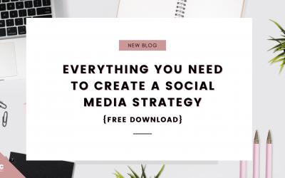 Create A Social Media Strategy