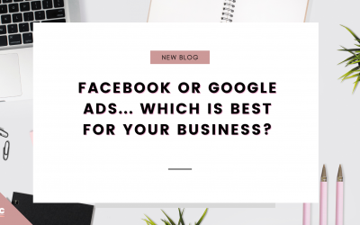 Facebook or Google ads? Which is best for your business?
