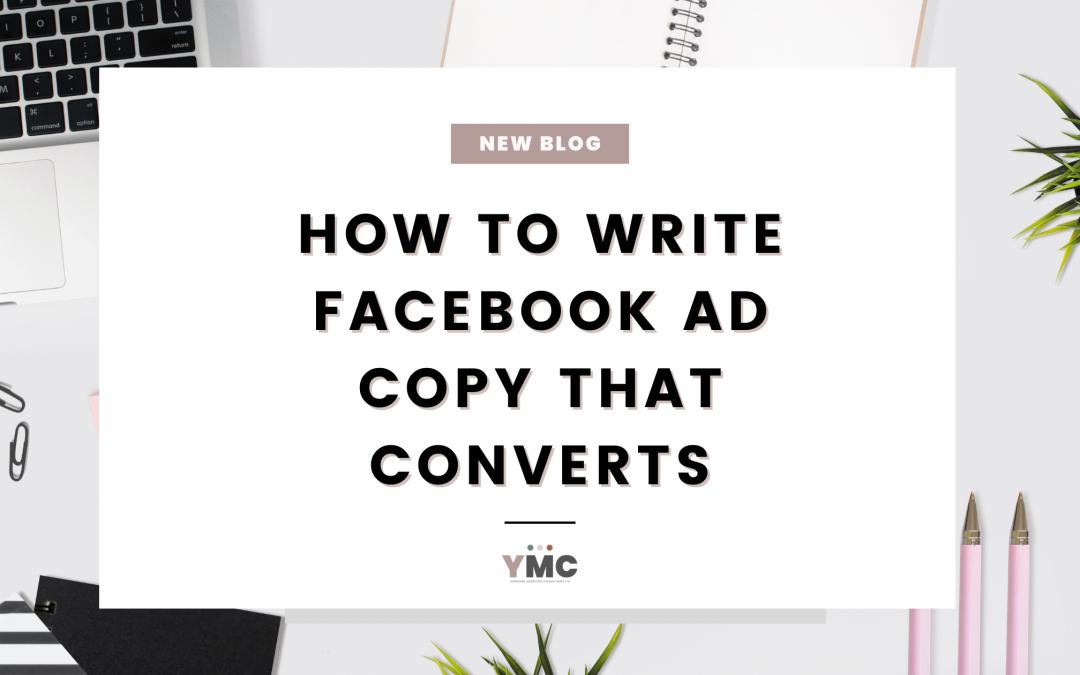 Facebook Ad copy